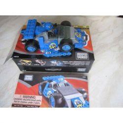 MEGA BLOKS 9181 Xếp hình kiểu Lego CITY Blue Hot Rod Racer Blue Modified Racing Car Xe đua Cải Tiến Màu Xanh 55 khối