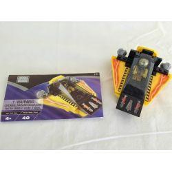 MEGA BLOKS 9182 Xếp hình kiểu Lego CITY Yellow Space Shuttle Tàu Con Thoi Màu Vàng 40 khối
