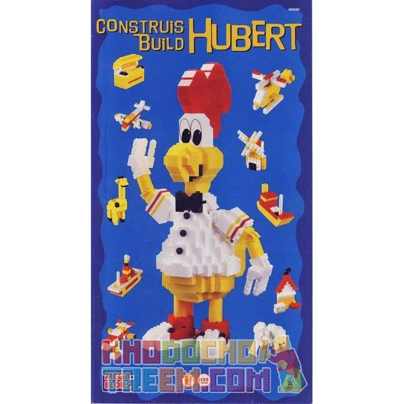 MEGA BLOKS 999582 Xếp hình kiểu Lego St. Hubert Chicken Saint Suibut Chicken Gà St Hubert 435 khối