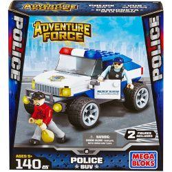 MEGA BLOKS 94406 Xếp hình kiểu Lego CITY Police SUV SUV Cảnh Sát 140 khối