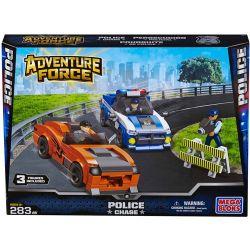 MEGA BLOKS 94412 Xếp hình kiểu Lego CITY Police Chase Cảnh Sat đuổi Theo 283 khối