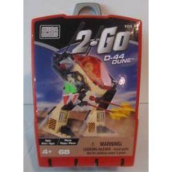 MEGA BLOKS 9115 Xếp hình kiểu Lego D-44 DUNE D-44 Sand Dunes D-44 Cồn Cát 68 khối