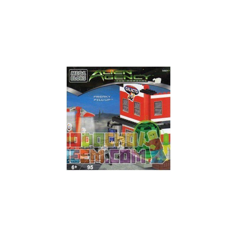 MEGA BLOKS 5601 Xếp hình kiểu Lego Freaky Fill-Up Strange Fill Nhồi Nhét Kỳ Lạ 95 khối