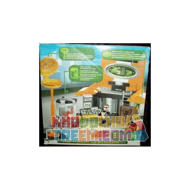MEGA BLOKS 5602 Xếp hình kiểu Lego Burger Barn Hamburg Warehouse Nhà Kho Hamburg 100 khối
