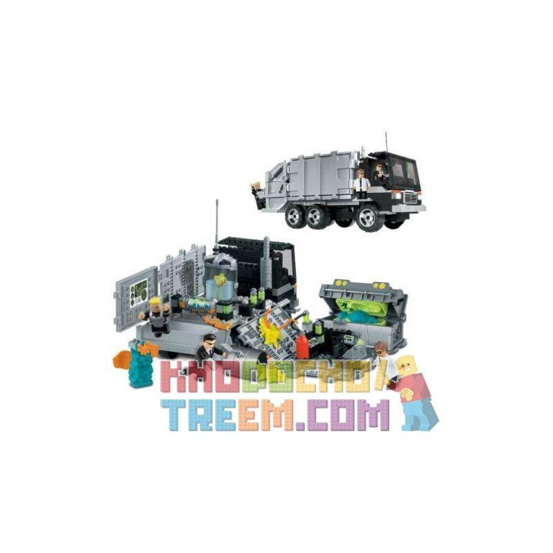 MEGA BLOKS 5611 Xếp hình kiểu Lego Mobile Recovery Unit Mobile Backup Ô Tô Dự Phòng Di động 295 khối