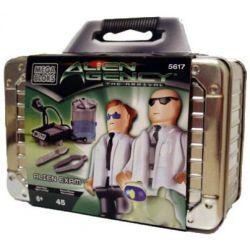 MEGA BLOKS 5617 Xếp hình kiểu Lego Alien Exam Alien Test Thử Nghiệm Alien 45 khối