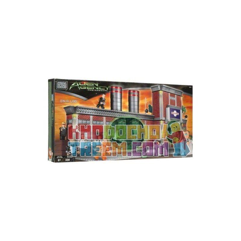 MEGA BLOKS 5631 Xếp hình kiểu Lego D.n.a. Lab Phòng Thí Nghiệm D.N.A. 330 khối