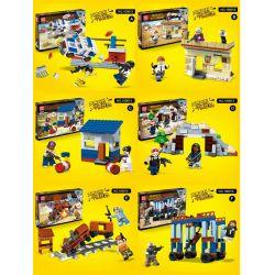 QUANGUAN QUAN GUAN 100013 Xếp hình kiểu Lego PUBG BATTLEGROUNDS Jedi Survival Chiến Trường Của Người Chơi Vô Danh