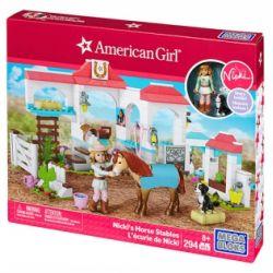 MEGA BLOKS DPK85 Xếp hình kiểu Lego FRIENDS Nicki's Horse Stables Nicki's Stables Nicki's ổn định 294 khối