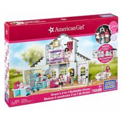MEGA BLOKS DPK87 Xếp hình kiểu Lego FRIENDS Grace's 2-in-1 Buildable Home GRACE's Home 2 In 1 Grace's Home 2 Trong 1 749 khối