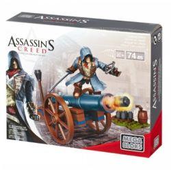 MEGA BLOKS 94303 DBJ08 Xếp hình kiểu Lego Cannon Strike Assassin's Creed Pháo Bắn Phá 74 khối