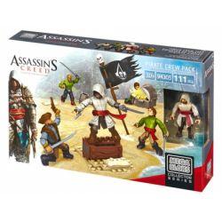 MEGA BLOKS 94305 CNK22 Xếp hình kiểu Lego Assassin's Creed Pirate Crew Package Túi Thủy Thủ đoàn 111 khối