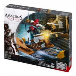 MEGA BLOKS CNG11 Xếp hình kiểu Lego Naval Cannon Assassin's Creed Navy Cannon Pháo Hải Quân 214 khối