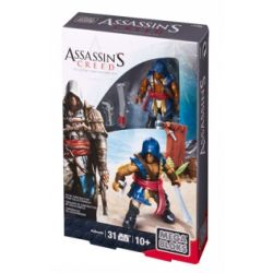 MEGA BLOKS CNG88 Xếp hình kiểu Lego Adéwalé Assassin's Creed Elder Đàn Anh 31 khối