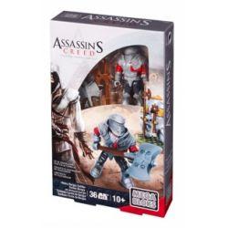 MEGA BLOKS CNG89 Xếp hình kiểu Lego Heavy Borgia Soldier Assassin's Creed Reissue Borjian Soldier Tiếp Sức Cho Những Người Lính Borgia 36 khối