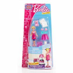 MEGA BLOKS 80204 Xếp hình kiểu Lego FRIENDS Slumber Party Barbie Pajamas Party Barbie Pjama Party Barbie 21 khối