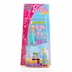 MEGA BLOKS 80206 Xếp hình kiểu Lego FRIENDS Movie Star Barbie Movie Star Barby Búp Bê Barbie 28 khối