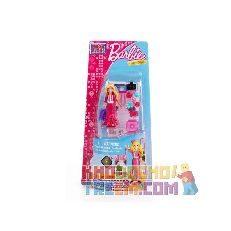 MEGA BLOKS 80208 Xếp hình kiểu Lego FRIENDS Fashion Model Barbie Fashion Model Barby Barbie Người Mẫu Thời Trang 21 khối