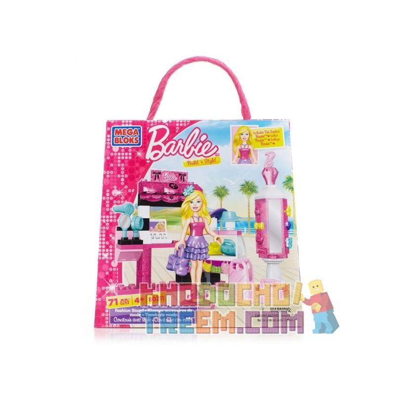 MEGA BLOKS 80211 Xếp hình kiểu Lego FRIENDS Fashion Stand Fashion Hanger Móc áo Thời Trang 71 khối
