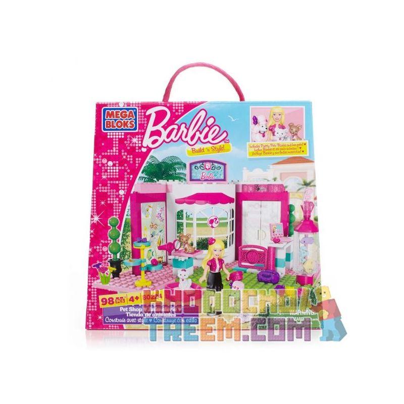 MEGA BLOKS 80224 Xếp hình kiểu Lego FRIENDS Pet Shop Pet Store Cửa Hàng Thú Cưng 98 khối