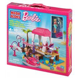 MEGA BLOKS 80244 Xếp hình kiểu Lego FRIENDS Tropical Resort Khu Nghỉ Mát Nhiệt đới 143 khối