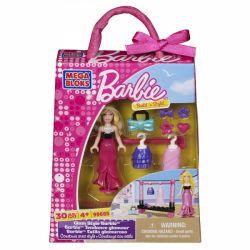 MEGA BLOKS 99685 Xếp hình kiểu Lego FRIENDS Glam Style Barbie Charm Style Barbie Barbie Phong Cách Quyến Rũ 30 khối