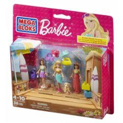 MEGA BLOKS 80111 CNF02 Xếp hình kiểu Lego FRIENDS Beach Vacation Beach Holiday Kỳ Nghỉ Bãi Biển 38 khối