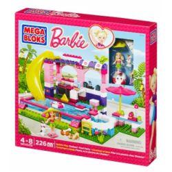 MEGA BLOKS 80136 DBM49 Xếp hình kiểu Lego FRIENDS Build 'n Play Chelsea™ Pool Party ChelseaTM Pool Party Tiệc Bể Bơi Chelsea ™ 226 khối