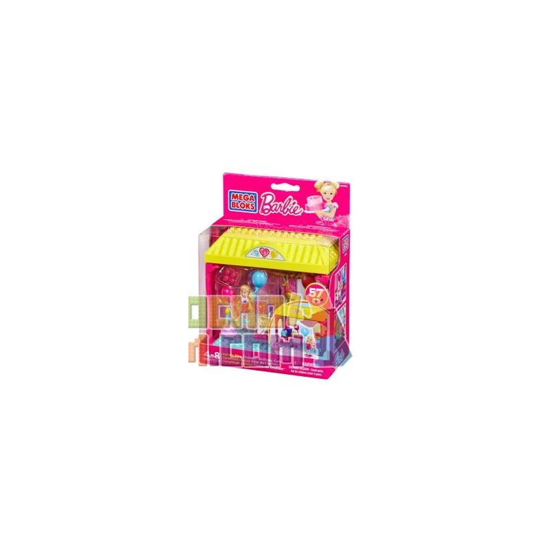 MEGA BLOKS 80162 CNF03 Xếp hình kiểu Lego FRIENDS Build 'n Play Chelsea™ Birthday Fun ChelseaTM Birthday Party Tiệc Sinh Nhật Chelsea ™ 57 khối