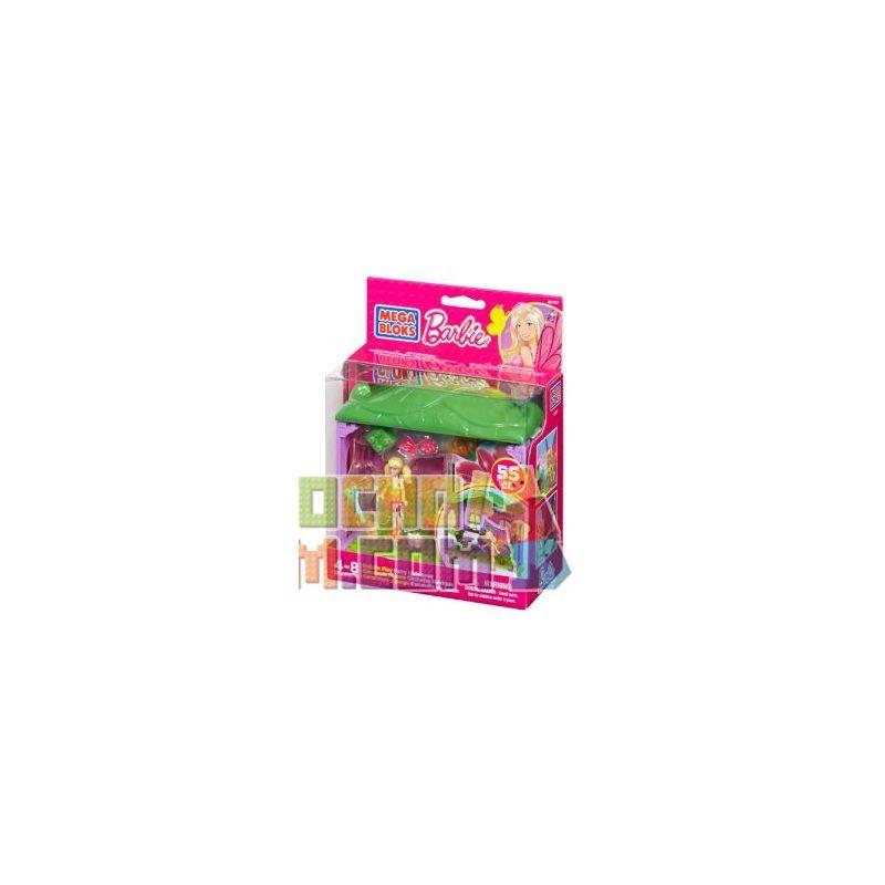 MEGA BLOKS 80167 Xếp hình kiểu Lego FRIENDS Build 'n Play Fairy Hideaway Fairy Hiding Nơi ẩn Náu Cổ Tích 55 khối