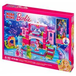MEGA BLOKS 80241 DBM21 Xếp hình kiểu Lego FRIENDS Build 'n Play Underwater Castle Lâu đài Dưới Nước 419 khối