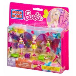 MEGA BLOKS 80257 CNF00 Xếp hình kiểu Lego FRIENDS Build 'n Play Fairy Gala Fairy Party Bữa Tiệc Cổ Tích 45 khối