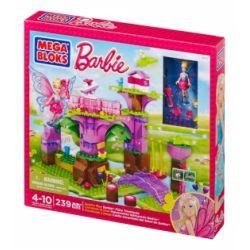 MEGA BLOKS 80258 DBM19 Xếp hình kiểu Lego FRIENDS Build 'n Play Fairy Treehouse Fairy Tree House Ngôi Nhà Trên Cây Cổ Tích 239 khối