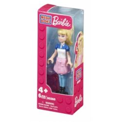MEGA BLOKS 80261 Xếp hình kiểu Lego FRIENDS Fall Fashion Barbie® Autumn Fashion Barbie Thời Trang Mùa Thu Barbie 6 khối