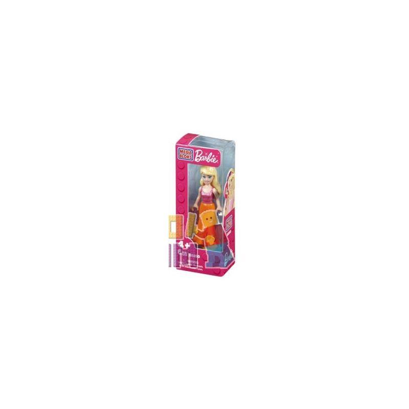 MEGA BLOKS 80263 Xếp hình kiểu Lego FRIENDS Tropical Barbie® Tropical Barby Barbie Nhiệt đới 6 khối