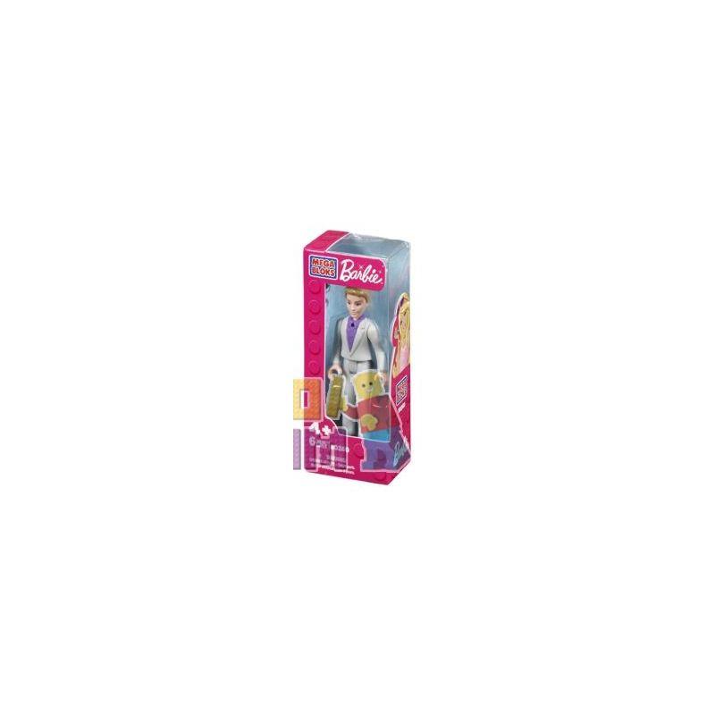 MEGA BLOKS 80268 Xếp hình kiểu Lego FRIENDS Tuxedo Ken® Dress Ken Mặc áo Ken 6 khối