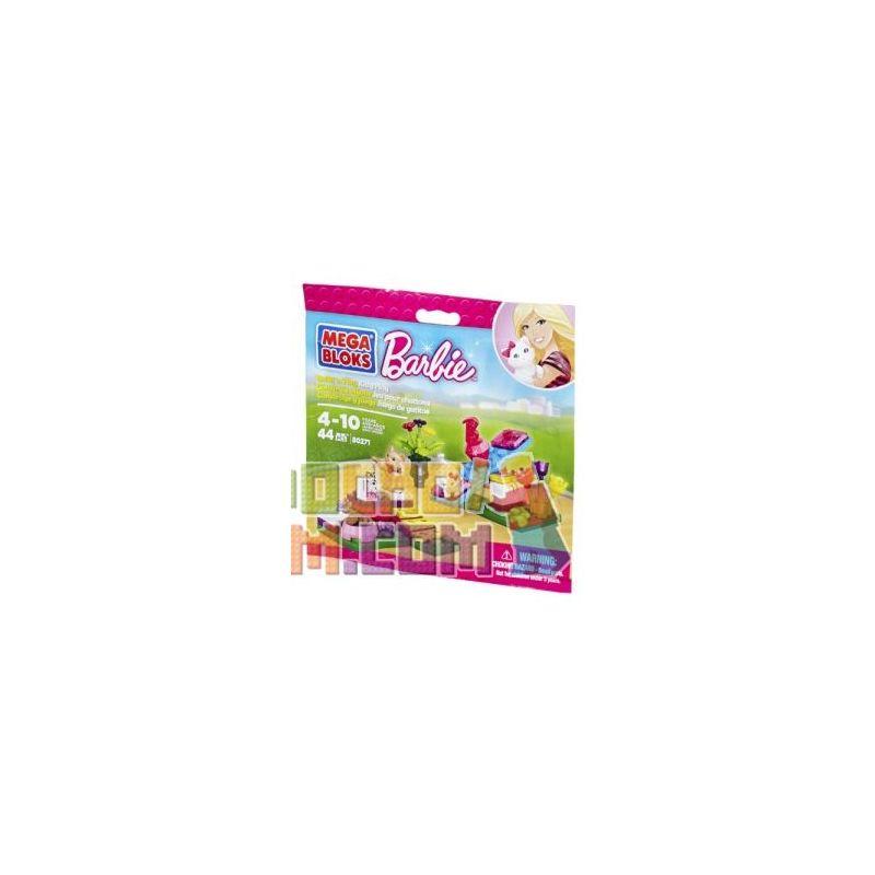 MEGA BLOKS 80271 Xếp hình kiểu Lego FRIENDS Build 'n Play Kitten Play Kitten Playful Mèo Con Vui đùa 44 khối