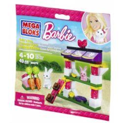 MEGA BLOKS 80272 Xếp hình kiểu Lego FRIENDS Build 'n Play Bunny House Rabbit House Nhà Thỏ 49 khối
