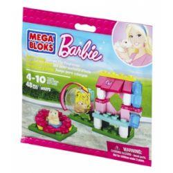 MEGA BLOKS 80273 Xếp hình kiểu Lego FRIENDS Build 'n Play Guinea Pig Playhouse Nhà đồ Chơi Guinea Pig 48 khối