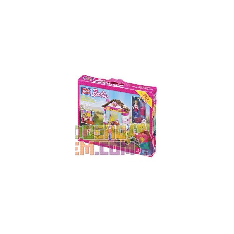 MEGA BLOKS 80291 Xếp hình kiểu Lego FRIENDS Glam Cabin Attractive Hut Túp Lều Quyến Rũ 210 khối