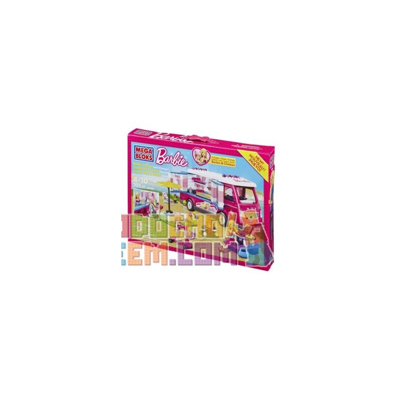 MEGA BLOKS 80293 Xếp hình kiểu Lego FRIENDS Build 'n Play Luxe Camper Luxury Camper Camper Sang Trọng 305 khối