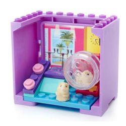 MEGA BLOKS CNH91 Xếp hình kiểu Lego FRIENDS Gym Fit Hamsters Fitness Hamster Hamster Tập Thể Dục 18 khối