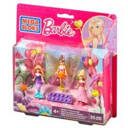 MEGA BLOKS 80171 CND50 Xếp hình kiểu Lego FRIENDS Princess Ball Barbie Princess Barby Công Chúa Barby. 35 khối