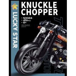 LUCKY STAR 50024 MOULDKING MOULD KING 23005 REBRICKABLE MOC-17249 17249 MOC17249 Xếp hình kiểu Lego Fast RC Motorcycle - It Really Works And Stands Up! - 30kmh With BuWizz 2.0 Harley Knuckle Chopper M