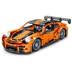 SHENG YUAN SY 8601 Xếp hình kiểu Lego TECHNIC TECHINQUE Tribute Porsche 911 Sports Car 1 14 Xe Thể Thao Porsche 911 1 14 1220 khối