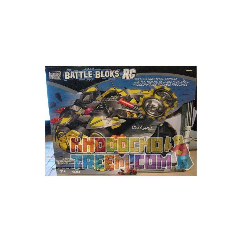 MEGA BLOKS 9615 Xếp hình kiểu Lego BUZZ SAW Circular Saw Cưa Vòng 100 khối
