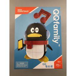 MEGA BLOKS FMR44 Xếp hình kiểu Lego QQFamily Happy Time QQ Music Fan QQfamily Những Khoảnh Khắc Hạnh Phúc Người Hâm Mộ âm Nhạc QQ 210 khối