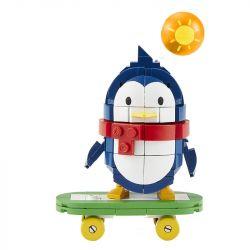 MEGA BLOKS FMR46 Xếp hình kiểu Lego Qqfamily Is Happy Moments Babyq Slide Board QQfamily Khoảnh Khắc Hạnh Phúc Ván Trượt BabyQ 190 khối