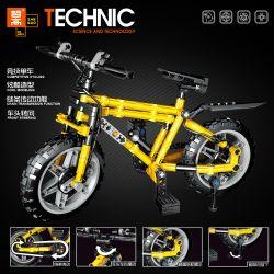 ZHEGAO QL0442 0442 Xếp hình kiểu Lego TECHNIC Sports Bicycle Đi Xe đạp Cạnh Tranh 235 khối