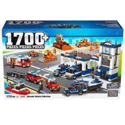 MEGA BLOKS 2426 Xếp hình kiểu Lego CITY Ultimate Vehicle Collection Bộ Sưu Tập Xe Cuối Cùng 1728 khối